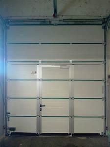porte service sur mesure dootdadoocom idees de With porte de garage avec porte de service sur mesure