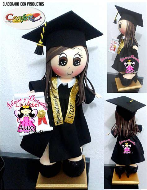 ideas y detalles auxy fofucha graduada graduaci 211 n fofuchas mu 209 eca de graduaci 211 n fofucha