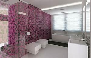 Badezimmer mit mosaik gestalten 48 ideen for Wand mit mosaik gestalten