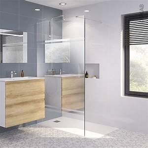paroi de douche a l39italienne 120 cm verre miroir 8 mm 1 With miroir de douche