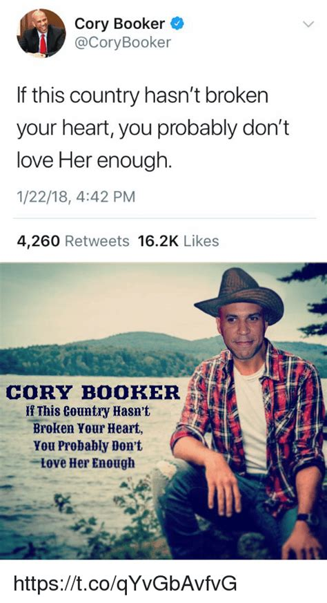 Cory Booker Meme - 25 best memes about love her love her memes