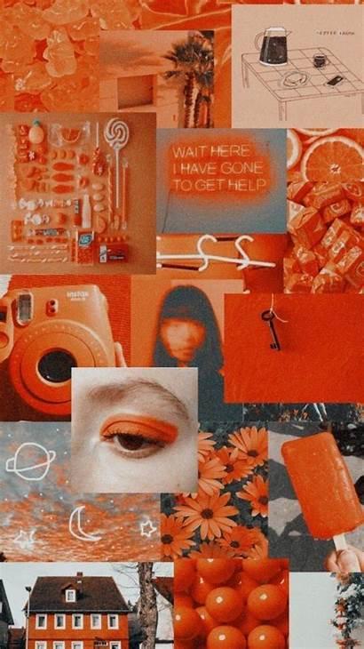 Aesthetic Orange Background Wallpapers Iphone Backgrounds обои