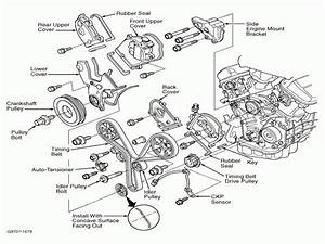 Honda Pilot Serpentine Belt Diagram