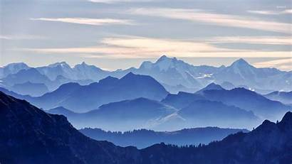 Mountain Range Nature Wallpapers