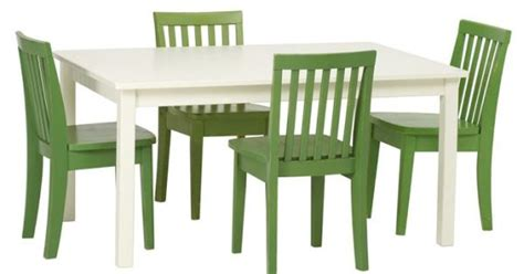 carolina large table 4 chairs set