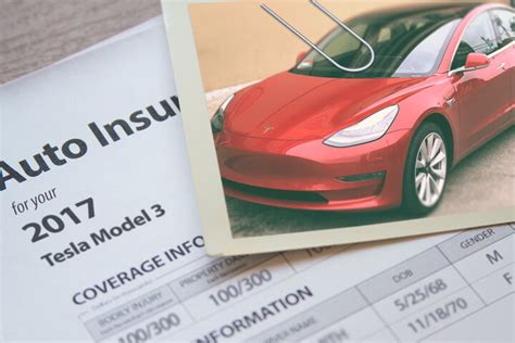 tesla model  insurance rates compared