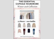 The Capsule Wardrobe EBook Store Classy Yet Trendy