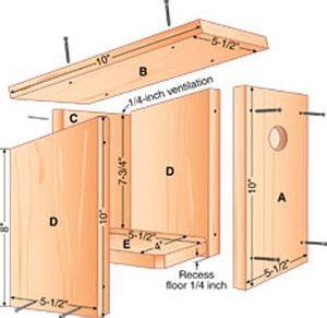 board birdhouse great project    kids