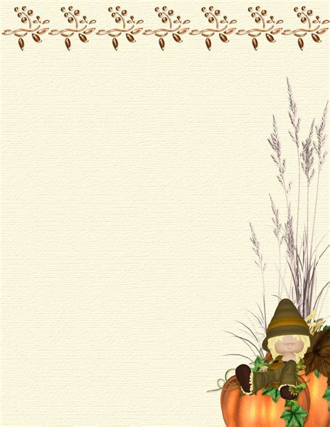 fall templates autumn or fall 2 free stationery template downloads