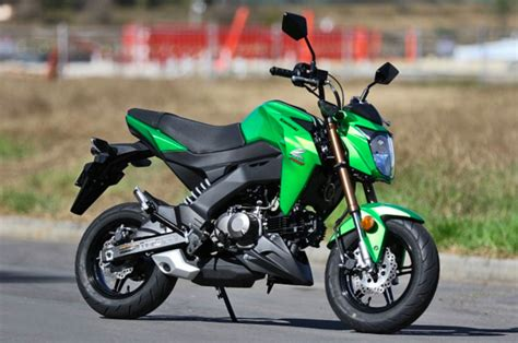 Review Kawasaki Z125 Pro by Review 2017 Kawasaki Z125 Pro Cycleonline Au
