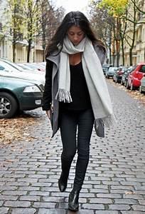 Herbst Outfits mit Schal - 50 Ideen fu00fcr einen modischen Look