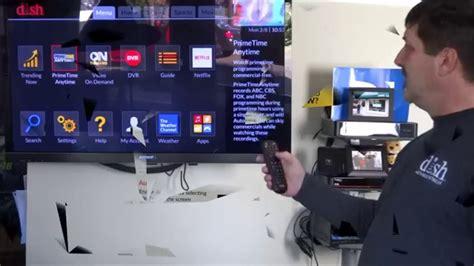 dish network hopper  demo  silverstar satellite youtube