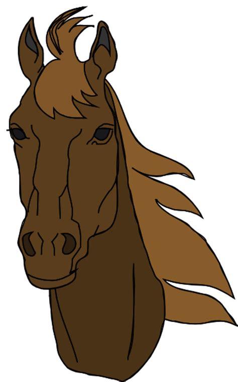 horse head clip art  clkercom vector clip art
