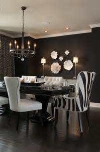 Black And White Dining Room Ideas Black And White Dining Room Contemporary Dining Room Benjamin Caviar Ramsey Interiors