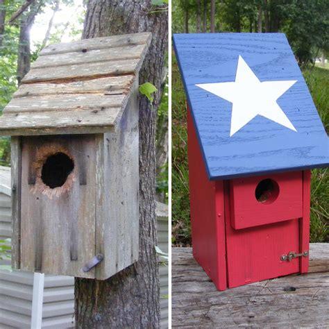 birdhouse renovation making  bird happy