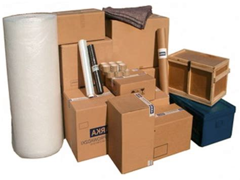 types sizes usage of cardboard moving boxes