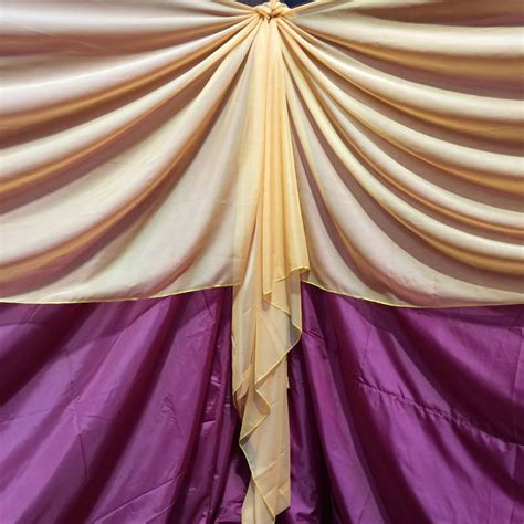 Perfecting The Art Of Event Draping  Event Transformation