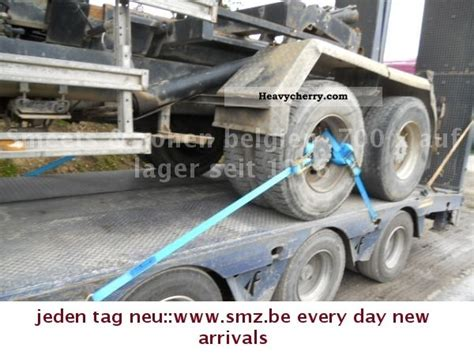 faymonville steerable axle 3 2x ausschiesbar 2005 low loader semi trailer and specs