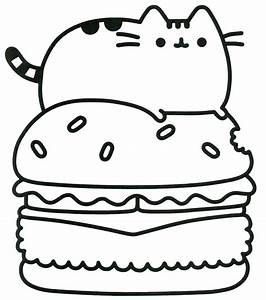 Pusheen Cat Coloring Pages – Colorings' World