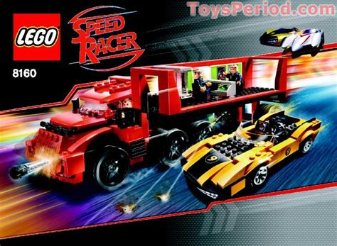 Lego 8160 Cruncher Block And Racer X Set Parts Inventory