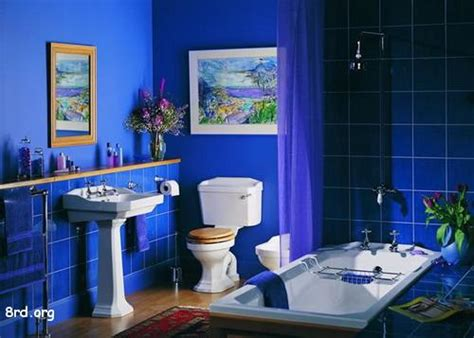 Blue Bathroom Designs by Great Decoration Cool Blue Bathroom Design