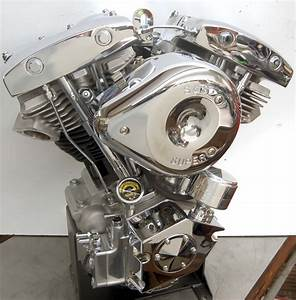 93 Ci  Shovelhead Engine With Distributor