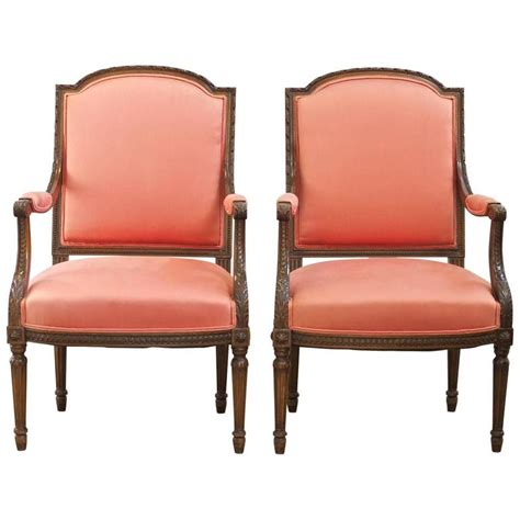 pair of louis xvi chairs for sale at 1stdibs