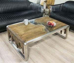 Couchtisch Holz Glas : designer couchtisch aus holz der tischonkel ~ Fotosdekora.club Haus und Dekorationen