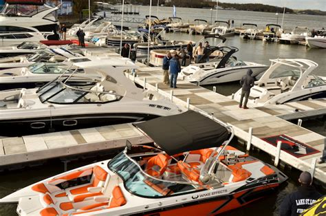 lake   ozarks april  water boat show