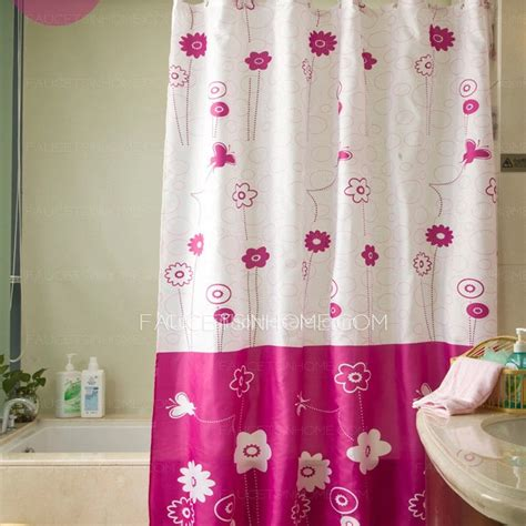 funky shower curtains funky shower curtain and waterproof floral print purple