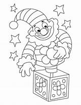 Clown Coloring Circus Happy Drawing Colouring Printable Killer Sad Krusty Face Template Getdrawings Sketch sketch template