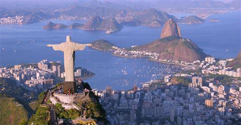 Wallpaper Christ The Redeemer Rio De Janeiro Brazil