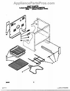 Parts For Whirlpool Rf365pxyw0  Unit Parts