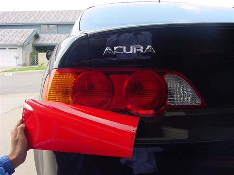 Series Parts Acura Rsx Red Out Taillight Installation