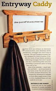 Wall Mounted Coat Rack Plans • WoodArchivist