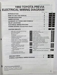 91 Previa Wiring Diagram
