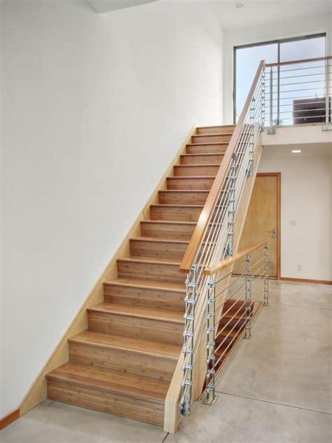 desain tangga kayu minimalis renovasi rumahnet