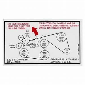 Ford 73 Diesel Serpentine Belt Diagram