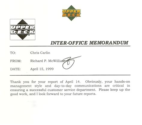 Upper Deck Customer Service by The Most Iconic Signature In The Sports Collectibles