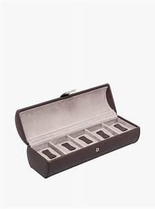 Boite De Montre : boite montres coffret cro te de cuir de vachette doublure ~ Teatrodelosmanantiales.com Idées de Décoration