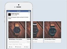 Facebook Carousel Format Now Available for Mobile App Ads