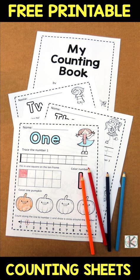 fall counting worksheets     printable