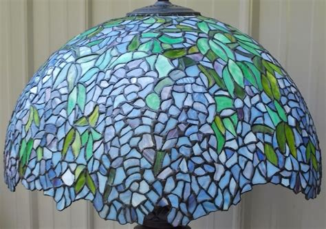 tiffany glass l shades large 21 quot tiffany style stained glass wisteria laburnum