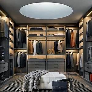 Kleiderschrank Weiß Grau : 1001 ideen f r offener kleiderschrank tolle wohnideen ~ A.2002-acura-tl-radio.info Haus und Dekorationen