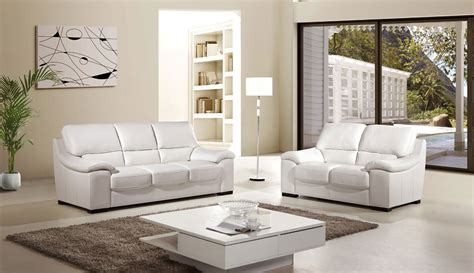 white leather sofa set luxor 2 piece italian top grain white leather sofa set
