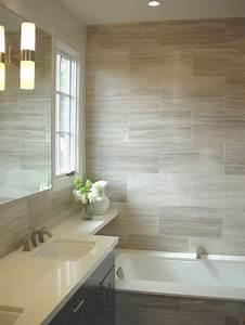 beaucoup d39idees en photos pour une salle de bain beige With carrelage salle de bain taupe