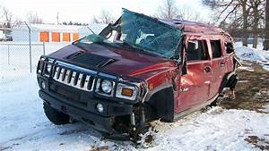 Latest Car Accident Of Hummer H2 - Road