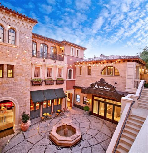 mediterranean mansion in orange county with awesome courtyard homes of the rich