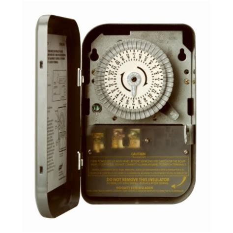 woods  indoor heavy duty mechanical timer  volt