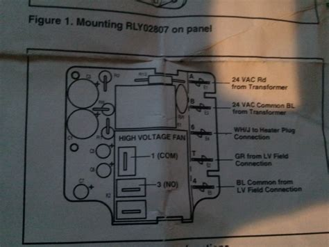 trouble wiring  rly time delay relay